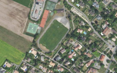 Nouvelle orthophoto sur le district de Nyon