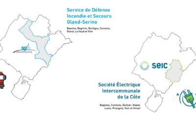 Le SDIS Gland-Serine et la SEIC ont rejoint Cartolacôte